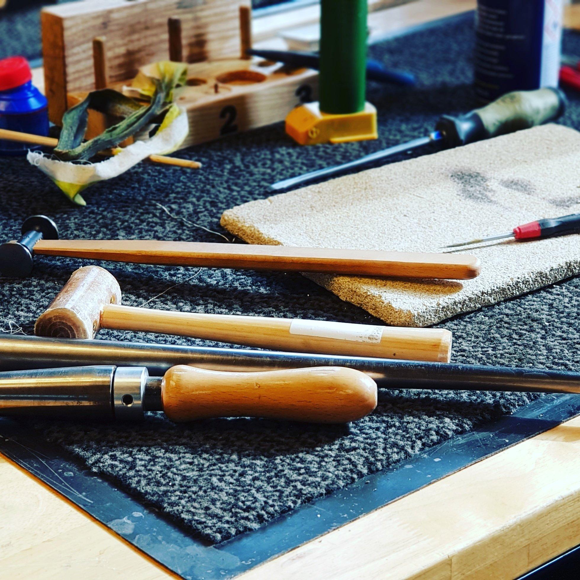 trompet reparatie koper koperblaas instrumenten revisie onderhoudsbeurt onderhoud